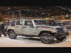 Jeep Wrangler Rubicon Recon. На авто шоу в Чикаго 2017.