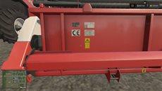 Гемплей комбайна RSM 161 в игре Farming Simulator.mp4