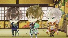 Красавчики из эпохи Сенгоку: Любовь, что пролетает сквозь время / Ikemen Sengoku: Toki wo Kakeru ga Koi wa Hajimaranai (2/12) [RUS]