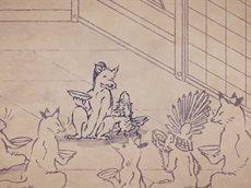 [Субтитры | 14] Карикатуры дикой природы Сэнгоку / Sengoku Choujuu Giga