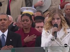 Jackie Evancho National Anthem At Trump Inauguration.mp4