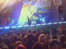 Салют. День Незалежності України, Луганськ, 24.08.2013